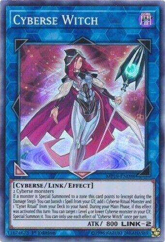 Cyberse Witch MP19-EN098 - Super Rare 1st Edition