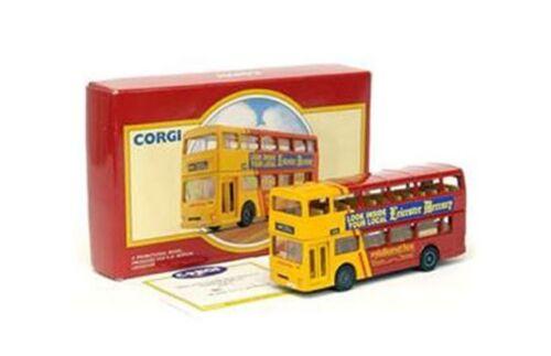 Corgi 91701 Midland Fox Metro Bus 91847 M Modelo 1:64th buses de dos pisos