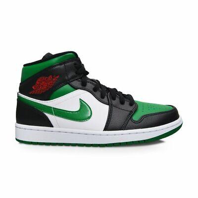Hommes Nike Air Jordan 1 Mi Vert Orteil 554724 067