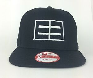 brand new aa548 25713 Image is loading EMBLEM3-E3-Black-Baseball-Cap-Hat-New-Era-