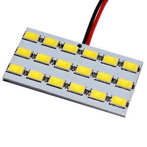 18-SMD-LED-Panel-5630-Soffitte-T10-BA9s-Innenraumbeleuchtung-Modul-12-V-LED-KFZ