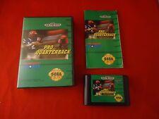 Pro Quarterback (Sega Genesis, 1992) COMPLETE w/ Box manual game WORKS!