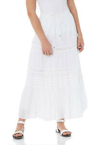 0a09bfb9a Roman Originals Women's Tiered Gypsy Maxi Skirt Sizes 10-20 | eBay