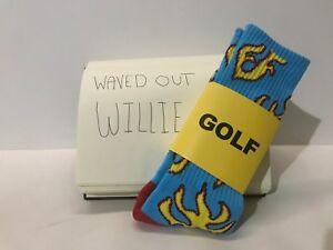 fc969cae97ab Golf Wang Flame Socks BRAND NEW (Tyler The Creator) Camp Flognaw ...