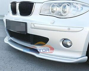 unpainted h style front lip spoiler for bmw e87 e81. Black Bedroom Furniture Sets. Home Design Ideas