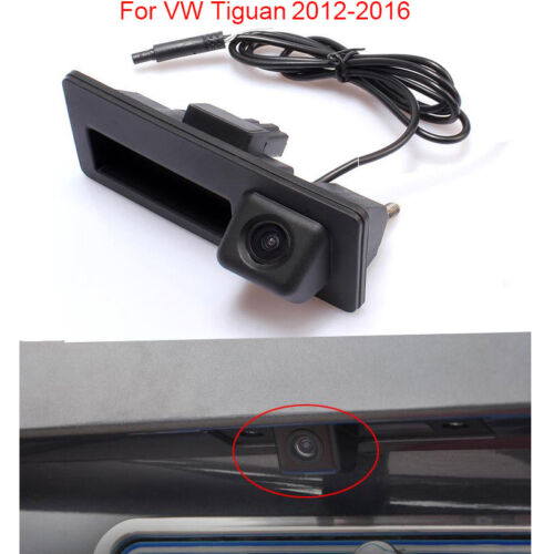 Car Trunk Handle Rear View Backup Reversing Camera Image For VW Tiguan 2012-2016