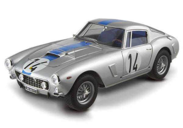 1961 Ferrari 250 GT Berlinetta SWB Passo Corto 14 Mans Hot Wheels Elite 1 18