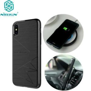 pretty nice a28b1 5cbc3 Details about Nillkin for Apple iPhone X 8 Plus Magic Case Qi Wireless  Charging Rear TPU Cover