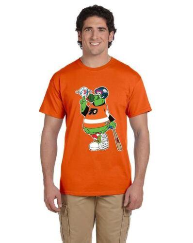 Phanatic Custom Design Philly team 2XL Tee shirt Phillies Flyers Eagles 76ers