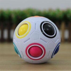 Spheric-Ball-Rainbow-Magic-Cube-3D-Puzzle-Twist-Toy-Brain-Teaser-Kids-Gift-2019