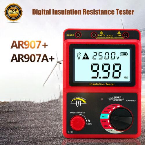 Digitaler Isolationswiderstand Tester Meter 50-2500V Messgerät