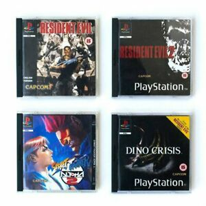 PlayStation Coasters Vol 3 Capcom NEW