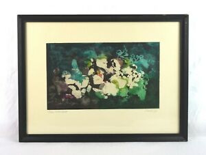 Vintage-Mid-Century-Modern-Art-Abstract-Lithograph-Print-Signed