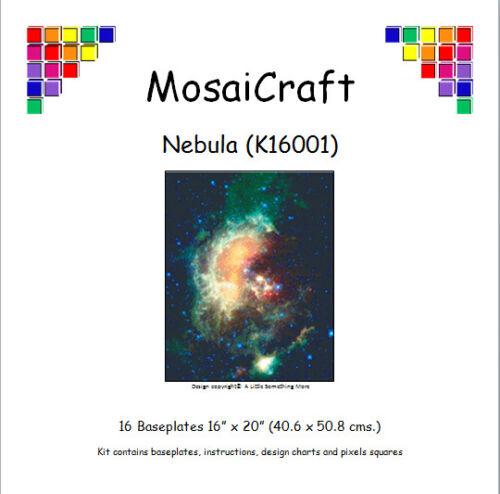 MosaiCraft Pixel Craft Mosaic Kit /'Nebula/' Pixelhobby