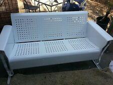 Antique glider bench