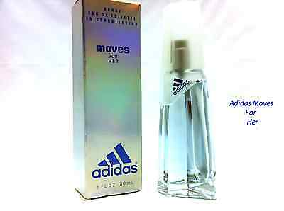 Classic Version Adidas Moves Cologne for Women By Coty EDT Spray 1 oz  NIB