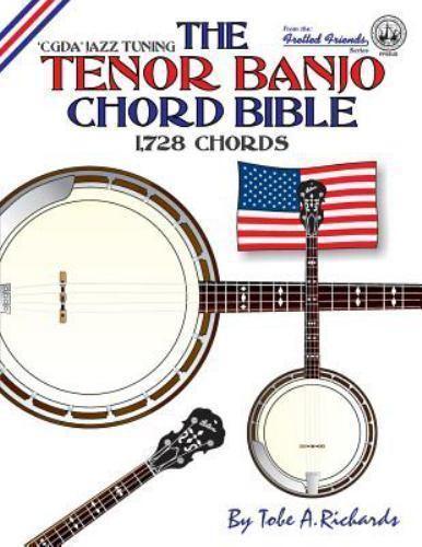 The Tenor Banjo Chord Bible Cgda Standard Jazz Tuning 1728