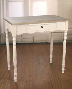 Image Is Loading Sofa Table Antique White French Provincial Desk With