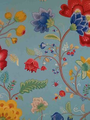 Pip Studio Vlies-Tapete 341035 Floral blau Vintage (11.06 Euro pro m²)