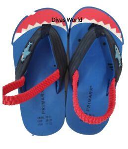 Disney Blue Shark Flip Flops Kids Girls