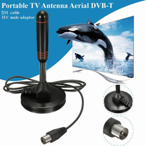 Portable-TV-Antenna-Aerial-DVB-T-Best-High-Definition-Caravan-Digital-Freeview