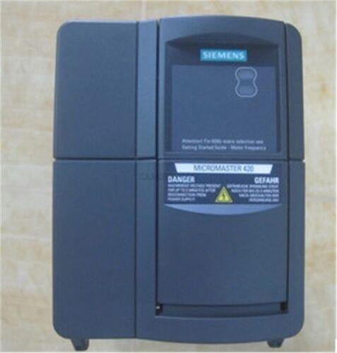 Verwendet 1 Stücke Siemens Wechselrichter 6SE6420-2UD24-0BA1 4Kw 380V zo