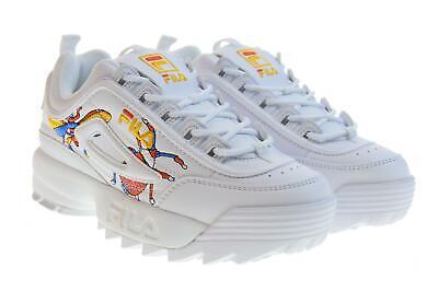 Fila P19u women's shoes low sneakers 1010609.90A DISRUPTOR CALABRONE LOW WMN | eBay