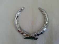 NEW Cadillac Eldorado Seville Trunk Lock Wreath Emblem Chrome Silver 86 - 91 OEM