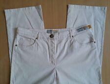 Damen Jeans Hose ZERRES Gr 42 W32 L30 hell rosa beige Stretch Cotton