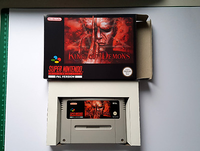 King Of Demons Boxed - PAL SNES