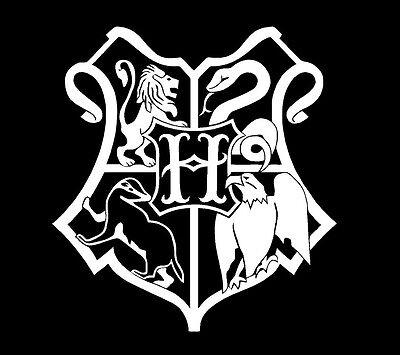 Hogwarts Banner Harry Potter Laptop Car Truck Decal Vinyl Sticker Symbol !SALE