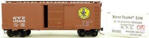 Micro-Trains-Ligne-20380-N-y-c-174370-40-039-Piece-Boite-1-160-Emballage-H088-A
