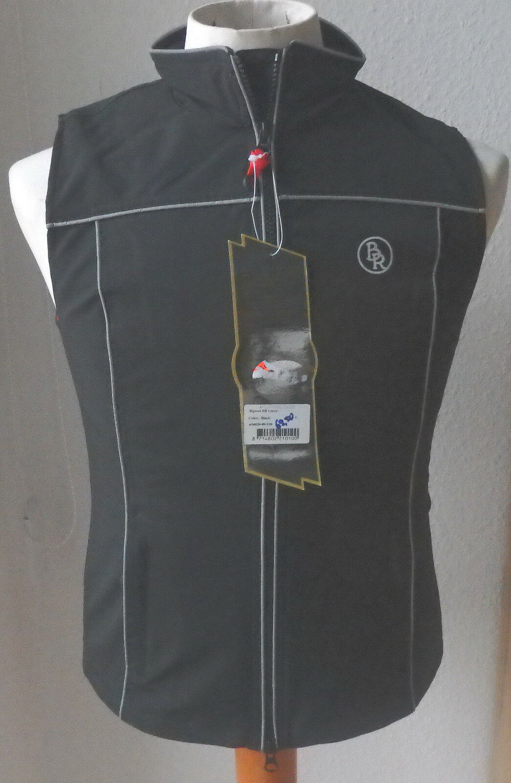 BR Softshell Reitweste, black, Gr. S, Modell Lecco