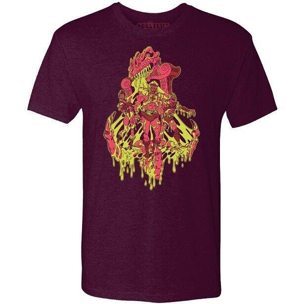 Motu t - shirt - 2018 sdcc exklusiv von mattel.kunstwerk von faccone - xl