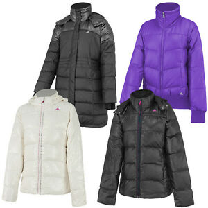 adidas down jacket damen daunen jacke mantel winterjacke. Black Bedroom Furniture Sets. Home Design Ideas