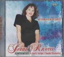 JENNI RIVERA CD NO VUELVO NI DE CHISTE Mariachi Vargas y Banda  NEW RARE CD