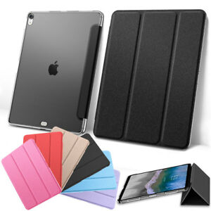 huge selection of 19a72 cf5d1 For Apple iPad Pro 11'' Inch 2018 Magnetic Soft Silk Leather Smart ...