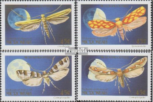 Mikronesien 199202 complete.issue. unmounted mint never hinged 1990 moth