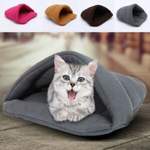 Winter-Pet-Cat-Dog-House-Kennel-Puppy-Cave-Sleeping-Bed-Mat-Pad-Warm-Nest