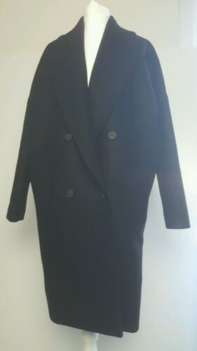 bnwt Allsaints Ember Nesi Coat.black.large.fits uk 1416 298.Clearance Event