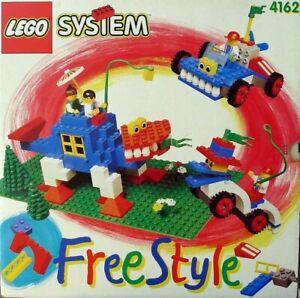 Lego Freestyle Set 4162 Freestyle Multibox 100 Complete From 1995 Vintage Ebay