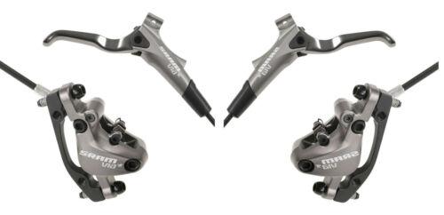 Sram Via GT Disc Bremsenset Falcon Grey oder Schwarz links rechts SET Bremsen