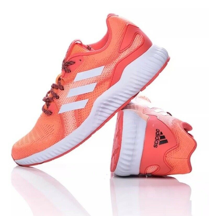 Adidas Aerobounce ST Donna's Size 9 Training Shoes Pink/Orange BW1239 NEW