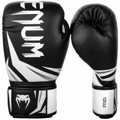 Venum Challenger 3.0 Boxe//Muay Thai Guanti-Nero//Bianco