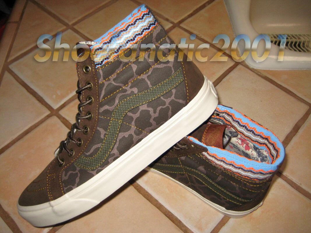 Vans CA Sample SK8 Hi Cutout DX Wren Camo Multi-color 9 Syndicate non Supreme Scarpe classiche da uomo