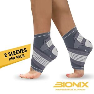 Ankle-Support-Brace-Compression-Achilles-Tendon-Strap-Foot-Sprains-Injury-Pair