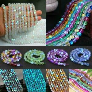 Wholesale-6mm-Mystic-Aura-Quartz-Gemstone-Loose-Bead-Holographic-Matte-Bracelet