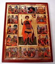 Der Santo Georg Icona Saint George Icone Icon Ikona Georgios ortodossa Icoon