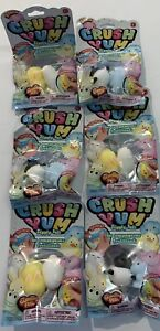 Brand New Lot of 2 Packs CRUSH YUMS Jiggly Pals 2 per pack