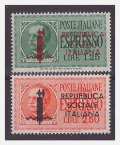 RSI FASCETTI ESPRESSI 1944 SERIE NUOVA ** - Italia - RSI FASCETTI ESPRESSI 1944 SERIE NUOVA ** - Italia